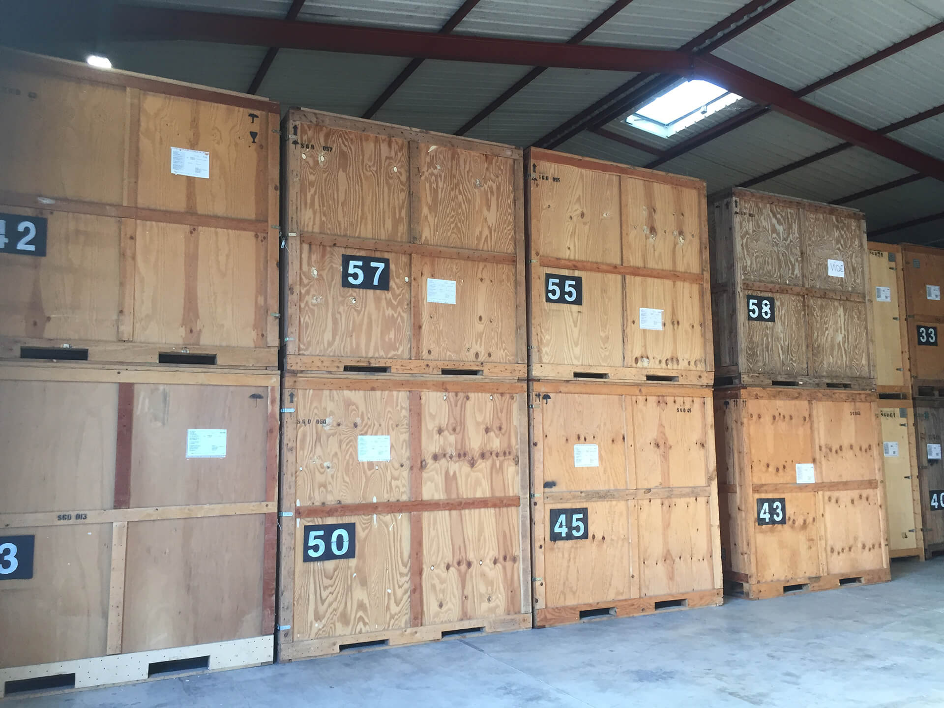 Sogedem europacking garde meubles sogedem europacking for Demenagement garde meuble